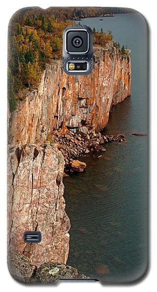 Fall Colors Adorn Palisade Head Galaxy S5 Case