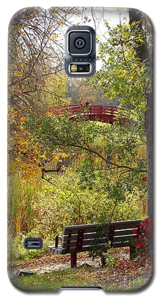 Galaxy S5 Case featuring the photograph Fall Colors by Cendrine Marrouat