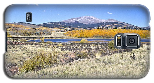 Fall Colors Fairplay Colorado Galaxy S5 Case