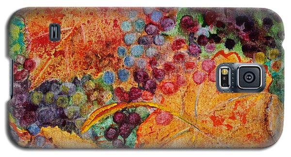 Galaxy S5 Case featuring the painting Fall Colors by Karen Fleschler