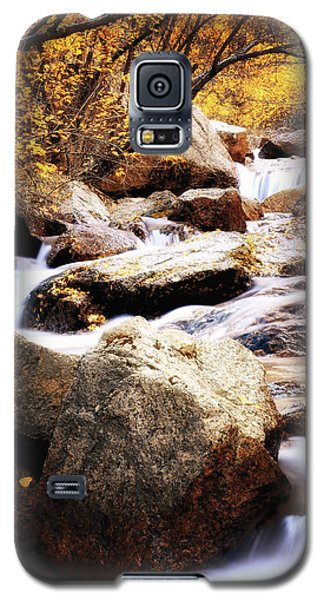 Fall Creek Canyon Galaxy S5 Case by The Forests Edge Photography - Diane Sandoval