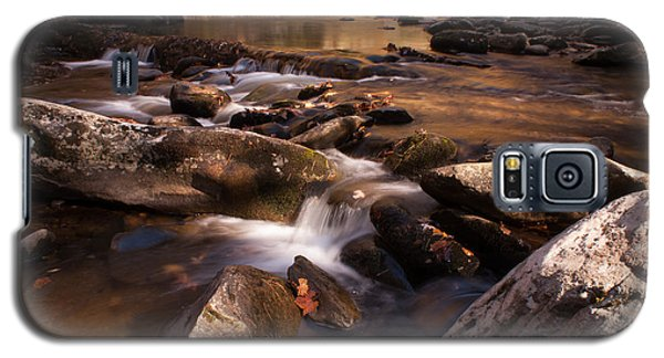 Galaxy S5 Case featuring the photograph Fall Creek by Rebecca Hiatt