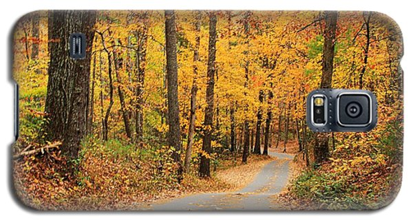 Galaxy S5 Case featuring the photograph Fall Drive by Geraldine DeBoer