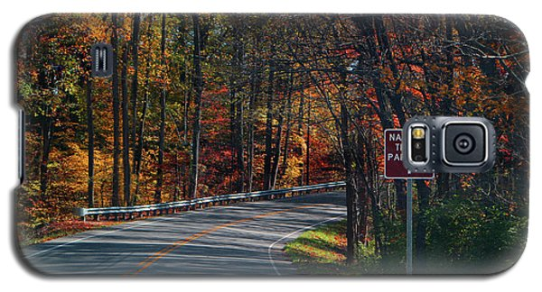 Galaxy S5 Case featuring the photograph Fall Drive In Tennessee  1 by Ericamaxine Price