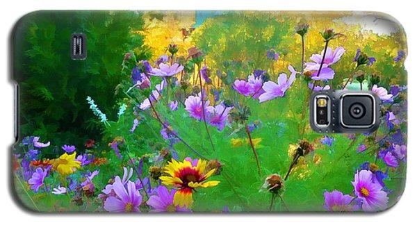 Fall Enters The Garden No 2 Galaxy S5 Case by Douglas MooreZart