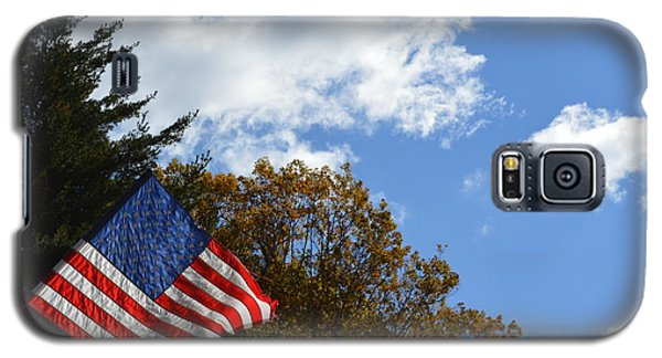 Fall Flag Galaxy S5 Case