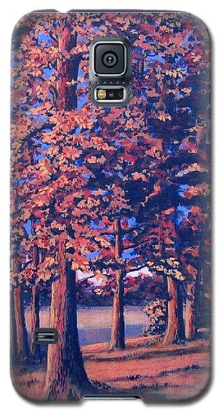 Fall In East Texas Galaxy S5 Case
