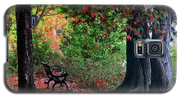 Fall In Henes Park Galaxy S5 Case