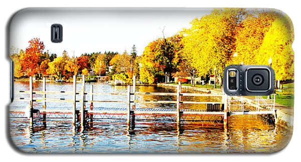 Fall In Skaneateles Ny Galaxy S5 Case by Margie Amberge