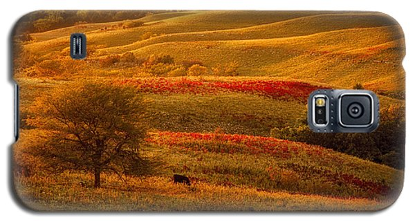 Fall In The Flint Hills Galaxy S5 Case