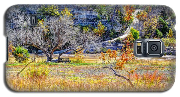 Fall In The Texas Hill Country Galaxy S5 Case by Savannah Gibbs