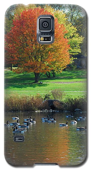 Galaxy S5 Case featuring the photograph Fall by Kathy Gibbons