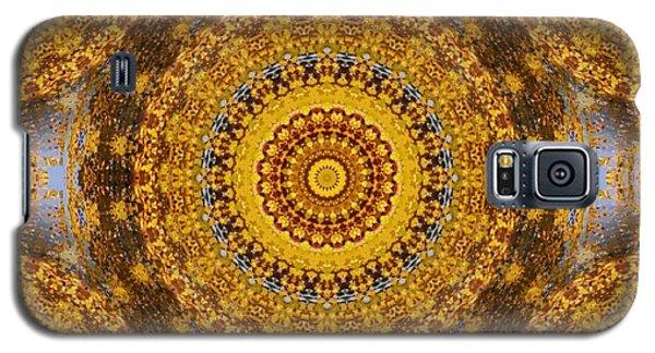 Galaxy S5 Case featuring the digital art Fall Leaf Pattern by Aliceann Carlton