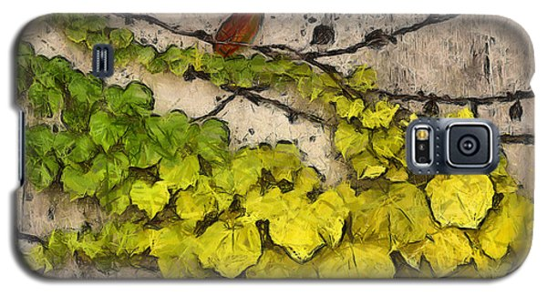 Galaxy S5 Case featuring the photograph Fall Leaves I by Brian Davis