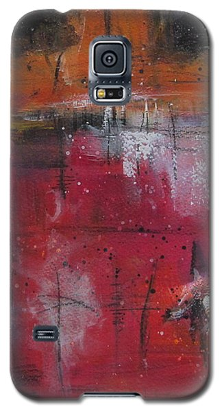 Galaxy S5 Case featuring the painting Fall by Nicole Nadeau
