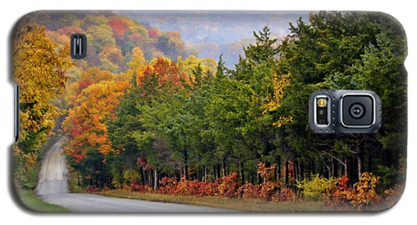 Fall On Fox Hollow Road Galaxy S5 Case
