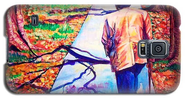 Fall On Highway 98' Galaxy S5 Case by Ecinja Art Works