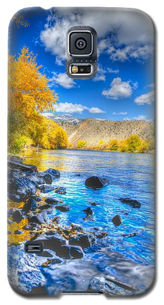 Fall On The Big Hole River  Galaxy S5 Case by Kevin Bone