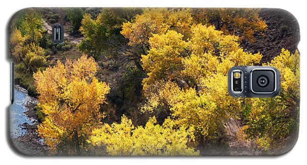 Galaxy S5 Case featuring the photograph Fall On The Chama River by Roselynne Broussard