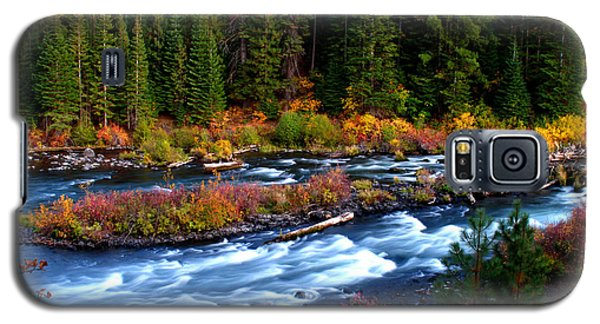 Galaxy S5 Case featuring the photograph Fall On The Deschutes River by Kevin Desrosiers