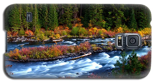 Fall On The Deschutes River Galaxy S5 Case