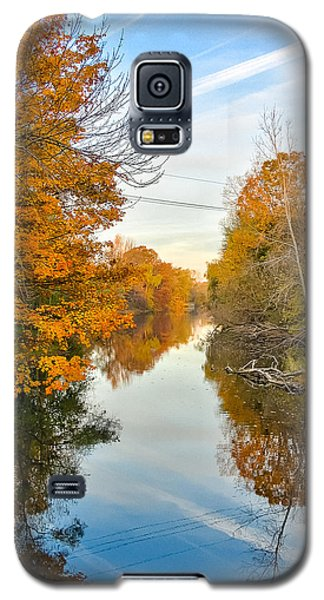 Fall On The Red Cedar  Galaxy S5 Case