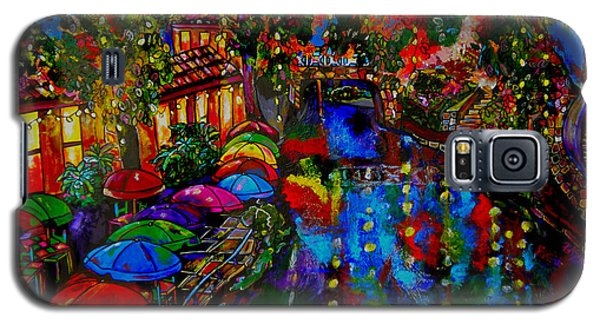 Fall On The Riverwalk Galaxy S5 Case