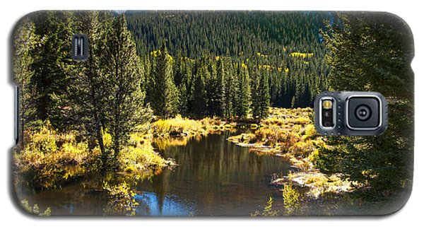 Fall Pond Cottonwood Pass Galaxy S5 Case