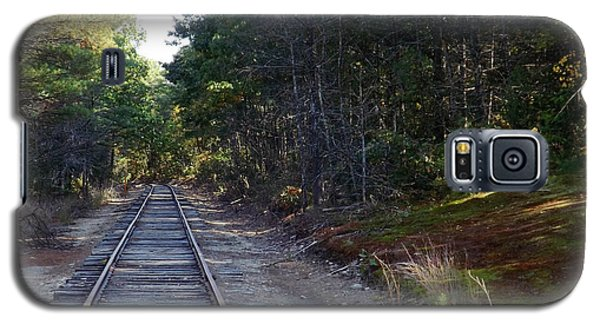 Fall Railroad Track To Somewhere Galaxy S5 Case