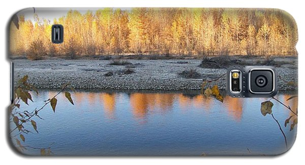 Galaxy S5 Case featuring the photograph Fall Reflection 2 by Jewel Hengen