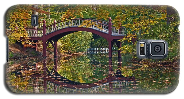 Fall Reflections At Crim Dell Galaxy S5 Case