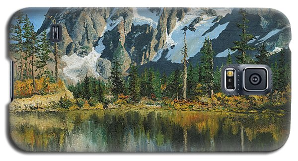 Fall Reflections - Cascade Mountains Galaxy S5 Case