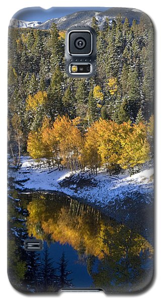Fall Reflections On Bobcat Pass Galaxy S5 Case