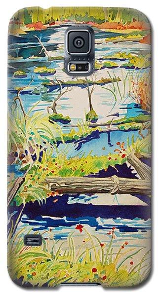 Fall River Scene Galaxy S5 Case