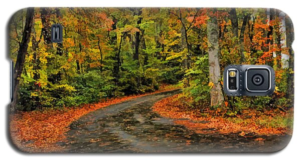 Fall Road To Glory Galaxy S5 Case by Kenny Francis