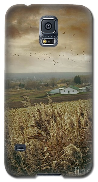 Fall Rural Scene Of A Farm In The Valley Galaxy S5 Case