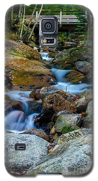 Galaxy S5 Case featuring the photograph Fall Scene In Nh by Mike Ste Marie