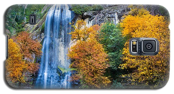 Fall Silver Falls Galaxy S5 Case by Robert Bynum