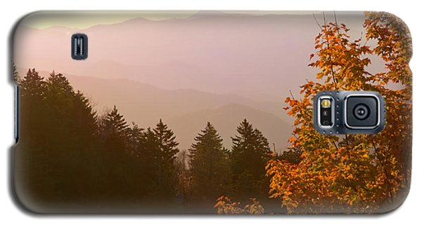 Fall Smoky Mountains Galaxy S5 Case by Melinda Fawver