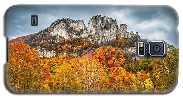 Fall Storm Seneca Rocks Galaxy S5 Case