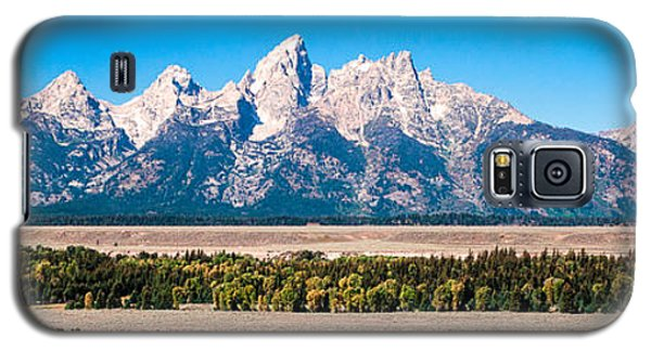 Fall Tetons Panorama   Galaxy S5 Case