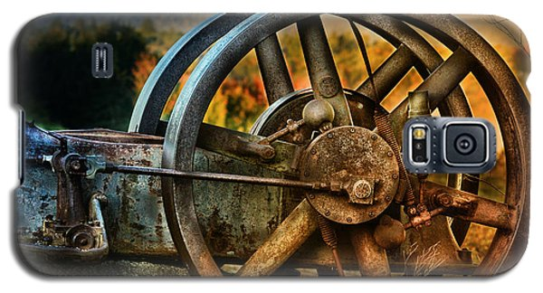 Fall Through The Wheels Galaxy S5 Case by Susan Capuano