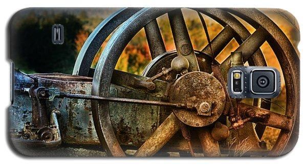 Fall Through The Wheels Galaxy S5 Case