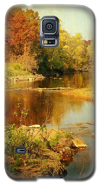 Fall Time At Rum River Galaxy S5 Case