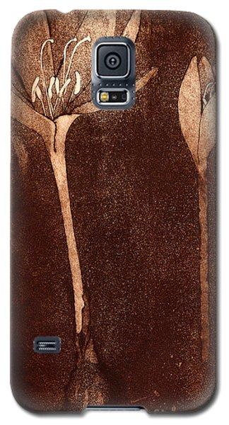 Fall Time - Autumn Crocus Meadow Safran Galaxy S5 Case