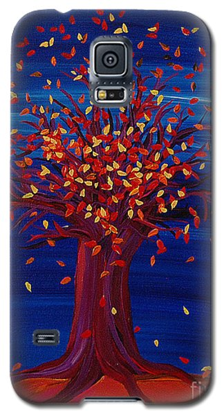 Fall Tree Fantasy By Jrr Galaxy S5 Case