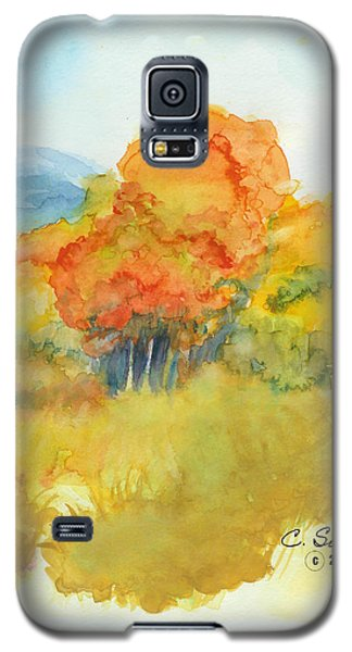 Fall Trees 2 Galaxy S5 Case by C Sitton