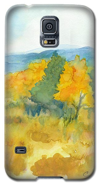 Fall Trees Galaxy S5 Case by C Sitton