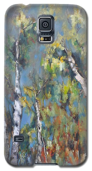 Fall Trees Galaxy S5 Case by Lindsay Frost