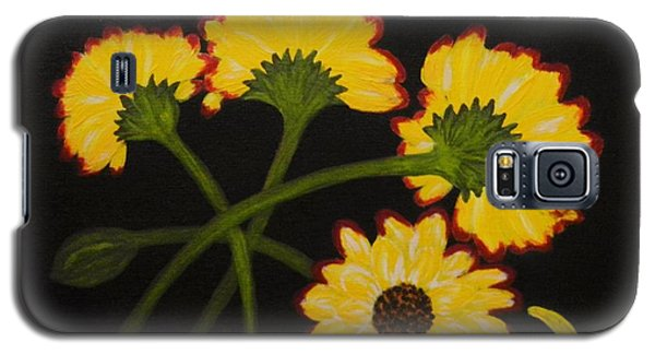 Galaxy S5 Case featuring the painting Fallen by Celeste Manning